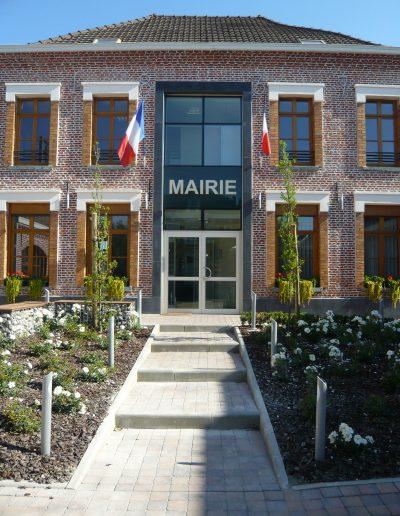 Mairie . FOURNES EN WEPPES