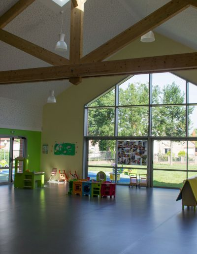 Yves Wozniak architecte Pôle enfance DOUVRIN