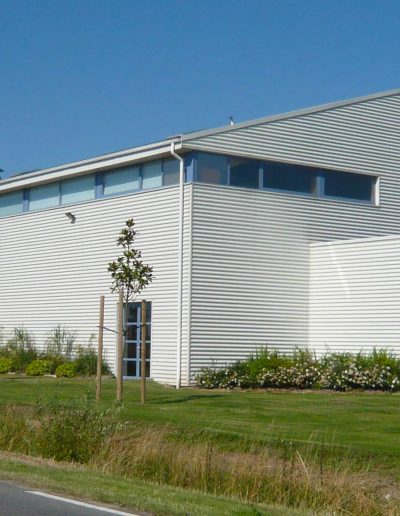Salle polyvalente auber yves wozniak architecte