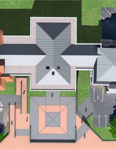 Yves Wozniak Architecte - Hotel de ville Hem 59510 2