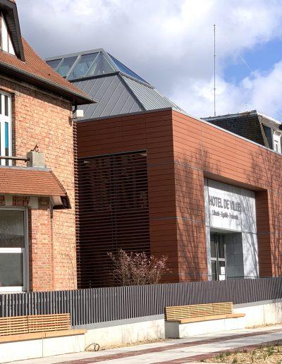 Yves Wozniak Architecte - Hotel de ville Hem 59510 3